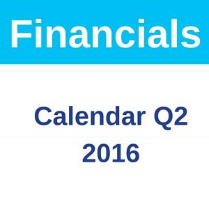 E-Commerce Platform Performance Q2 2016