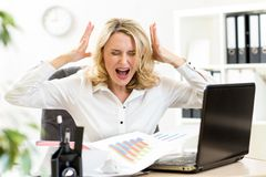 eBay stressed business woman ebay seller
