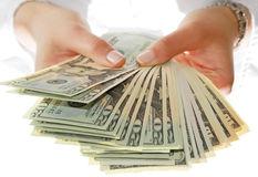eBay Seller holding money