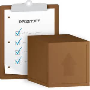 inventory checklist clipboard