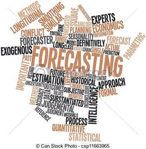 Forecasting the future - too much detail