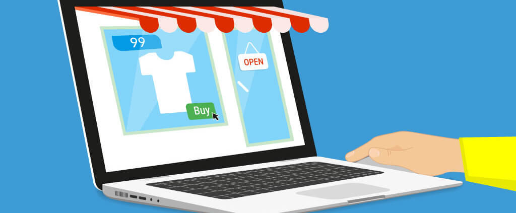 animated storefront image for ecommerce inventory