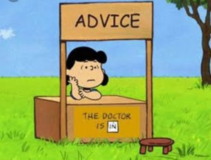 "Peanuts character Lucy ""the doctor is in"" eBay sales advice"
