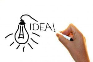 product listings idea light bulb