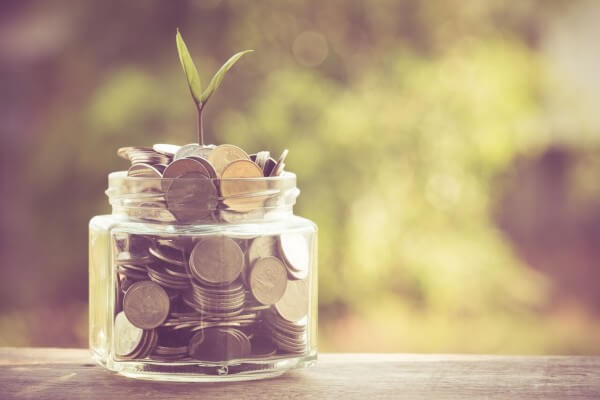 money in jar represents to increase business