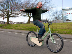 managing an online business is like balancing on a bike with no hands