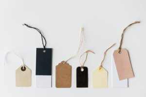 build a brand identity with price tagging