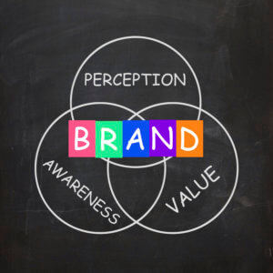 Adding brand personality involves perception, awareness and values