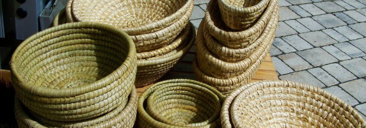 woven baskeys for selling handmade products