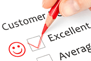 positive customer reviews checklist