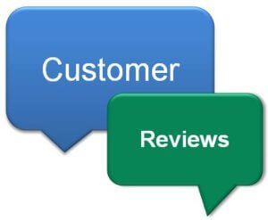 positive customer reviews thought bubbles