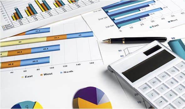 manage online inventory bar graphs and calculator