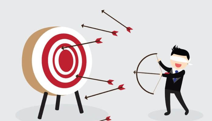 arrows missing target shows how not to establish a target market