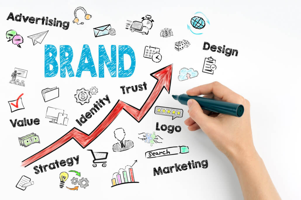 writer indicating ways to promote your store's brand